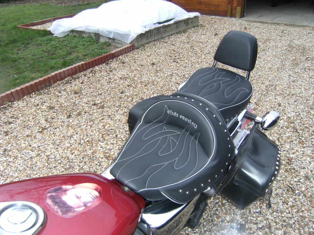 Honda Shadow Vt 125 C Deluxe Seats Petrol Tank Covers Tank Bags Rates For United States