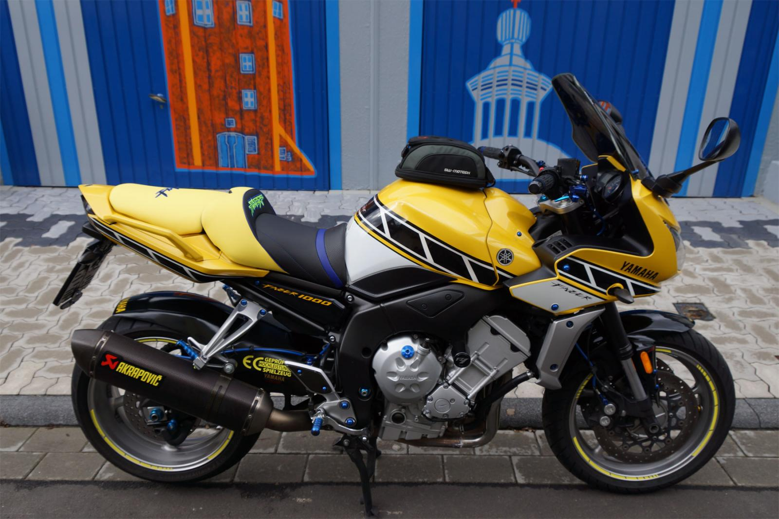Yamaha Fz1 S Gt 2006 Deluxe Seats Petrol Tank Covers