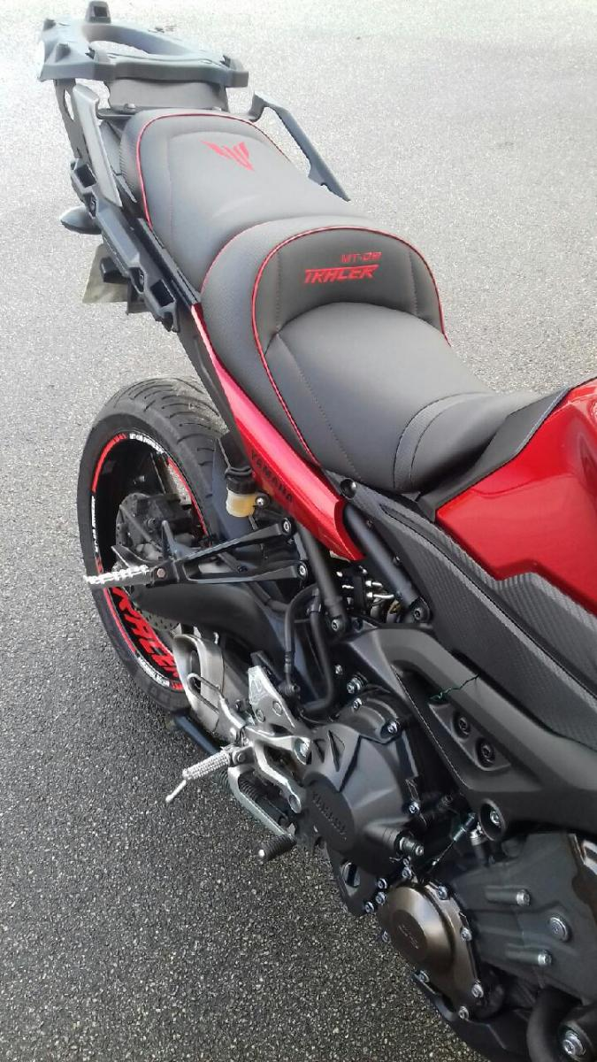 Yamaha Mt 09 Tracer 2015 2017 Deluxe Seats Petrol
