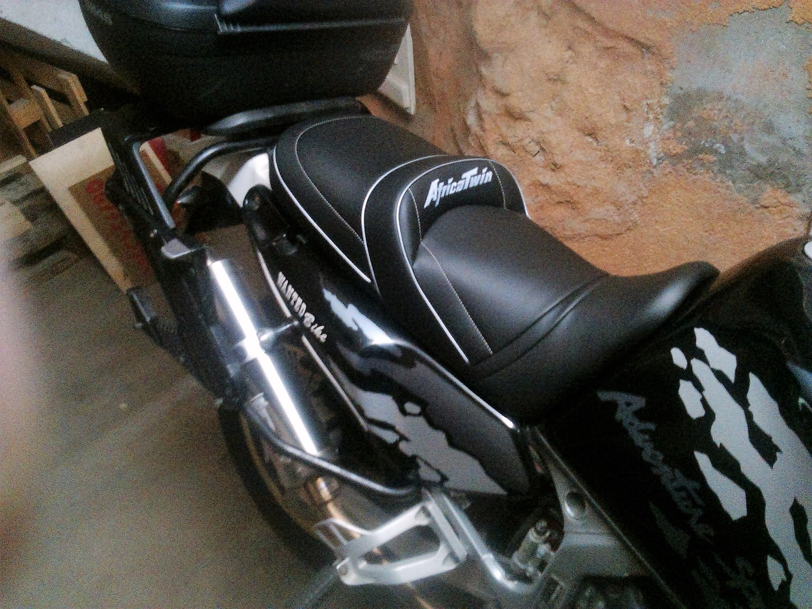 Honda Africa Twin Xrv 750 1993 2002 Deluxe Seats Petrol Tank Covers Tank Bags Rates For France