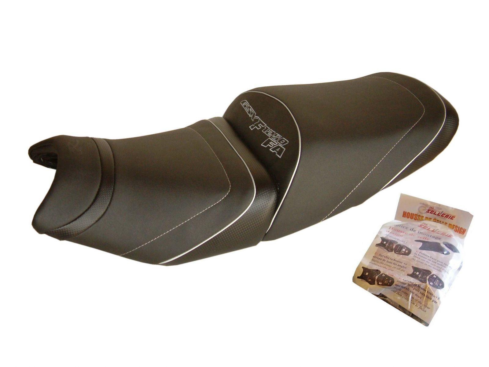 Sitzbankbezüge Design HSD2433 - SUZUKI GSX-F 1250 réglable en hauteur [≥ 2010]