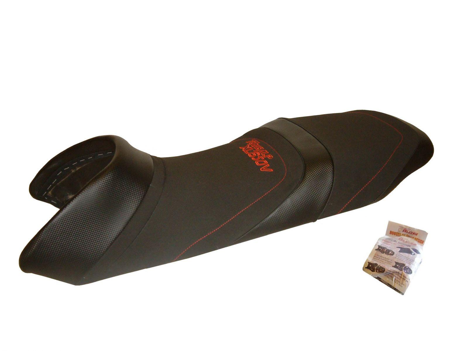 Designer style seat cover HSD3758 - HONDA TRANSALP XL 650 V [≥ 2000]
