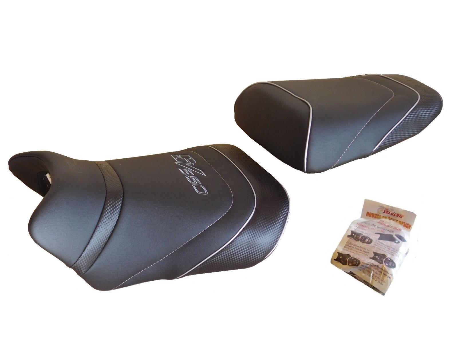 housse de selle design hsd4357 suzuki sv 650 s n 2006 2012 tarifs pour france. Black Bedroom Furniture Sets. Home Design Ideas